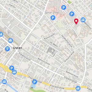 Claudia Borghetti Feldenkrais Karte Uster, Asylstrasse 24, jeden Montag